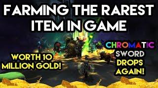 World Of Warcraft Gold Farm Rarest Item Drop Ever Worth 10,000,000 GOLD!