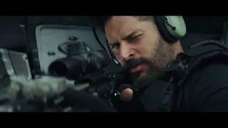 Гигантский волк уничтожает (съедает) элитный отряд спецназа. Рэмпэйдж (2018)