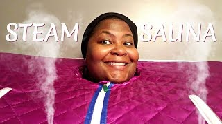 Portable Steam Sauna Spa Review and Kids New Years Resolutions | Seeing It Their Way Vlogs