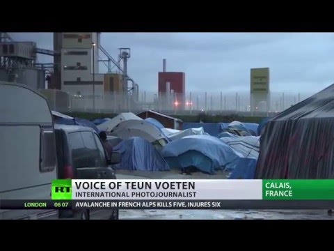 Rumble in 'Jungle': part of Calais refugee camp bulldozed