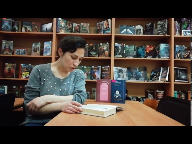 Изображение предпросмотра прочтения – ЭлеонораАзарян читает отрывок изпроизведения «Обломов» И.А.Гончарова