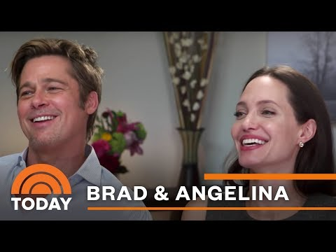 Angelina Jolie, Brad Pitt Discuss Marriage, New Film, Cancer Fight   TODAY