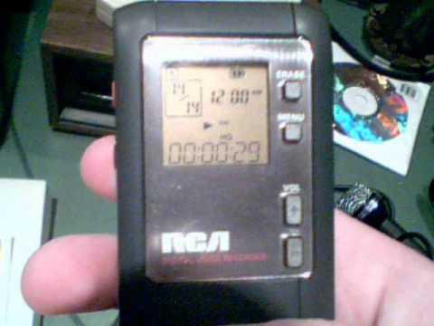 RCA RP-5020A Digital Voice Recorder