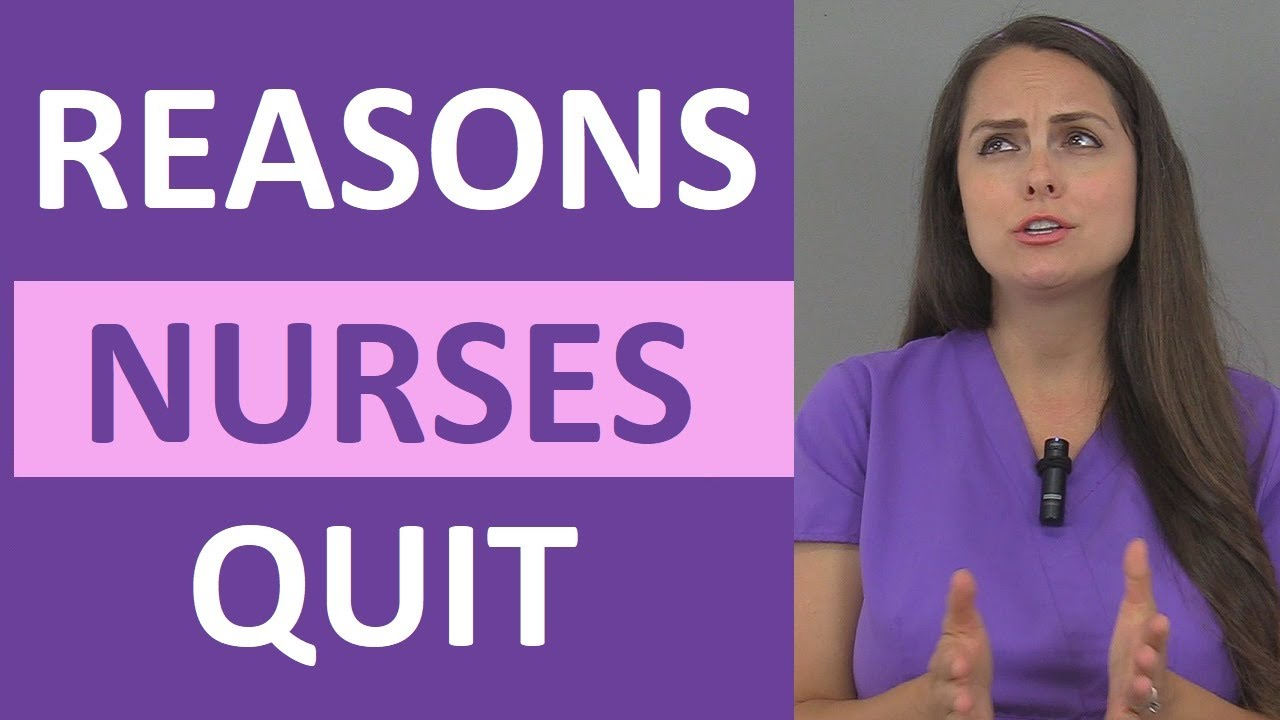 Download 7 Reasons Why Nurses Quit Their Job
