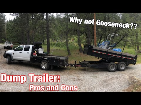Dump Trailers. Great Tool For The Job