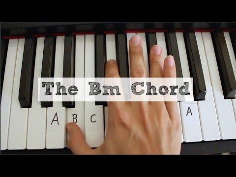 The Bm Chord Piano Tutorial Youtube