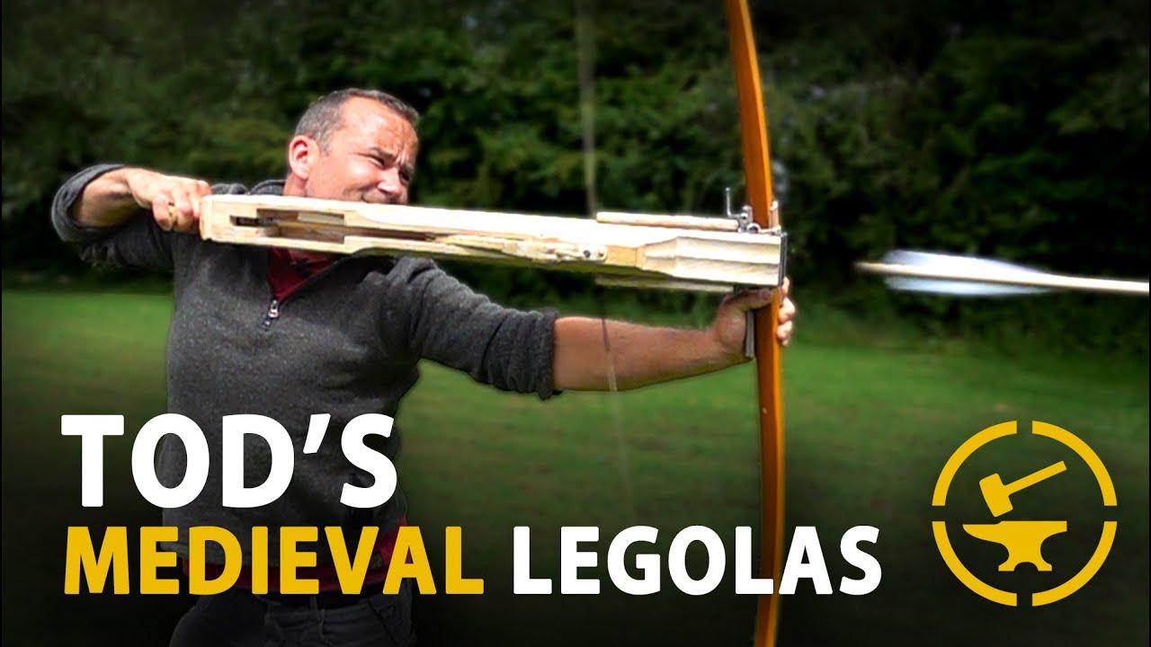 Tod's 120lb Medieval Legolas - TESTED