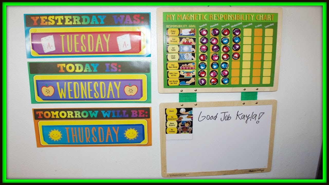 Kids Responsibility Chart Melissa Doug