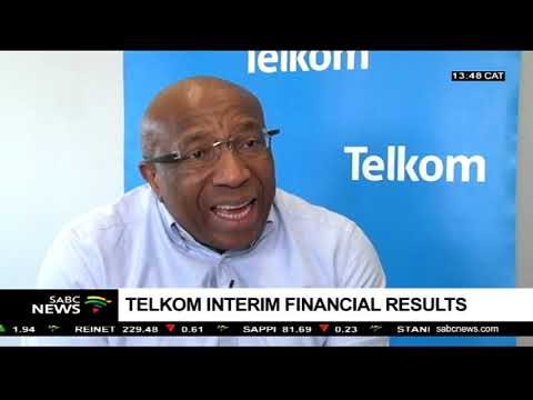 Telkom Interim Financial Results: Sipho Maseko