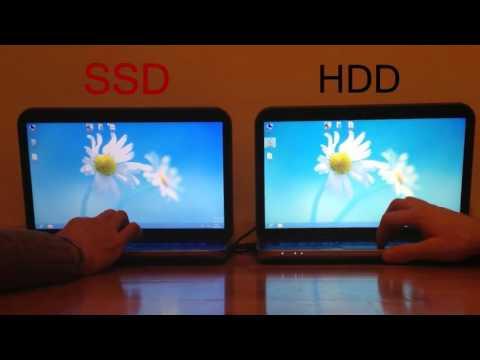 So sánh tốc độ của SSD và HDD (Có nên nâng cấp SSD hay không)