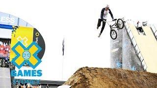 Dawid Godziek wins BMX Dirt gold | X Games Sydney 2018