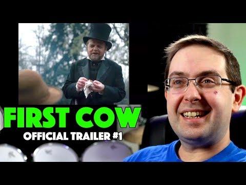Play REACTION! First Cow Trailer #1 - Alia Shawkat A24 Movie 2020