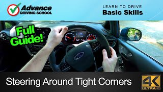The Best Way T๐ Steer Around Tight Corners   Learn to drive: Basic skills