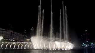 dubai mall foutains Tarab Lounge-Ala Bally Habibi Elissah