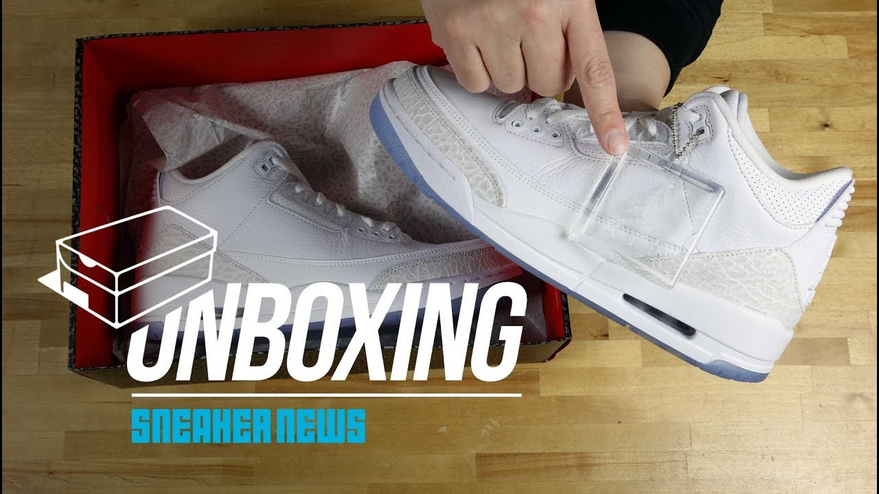 90d38f96b2a7dc Unboxing The Air Jordan 3