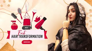 My First Hair Transformation - Ashnoor Kaur