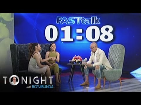 TWBA: Fast Talk with Morissette Amon and Jona