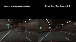 Porównanie - Osram Xenarc Night Breaker vs Osram Xenarc Cool Blue