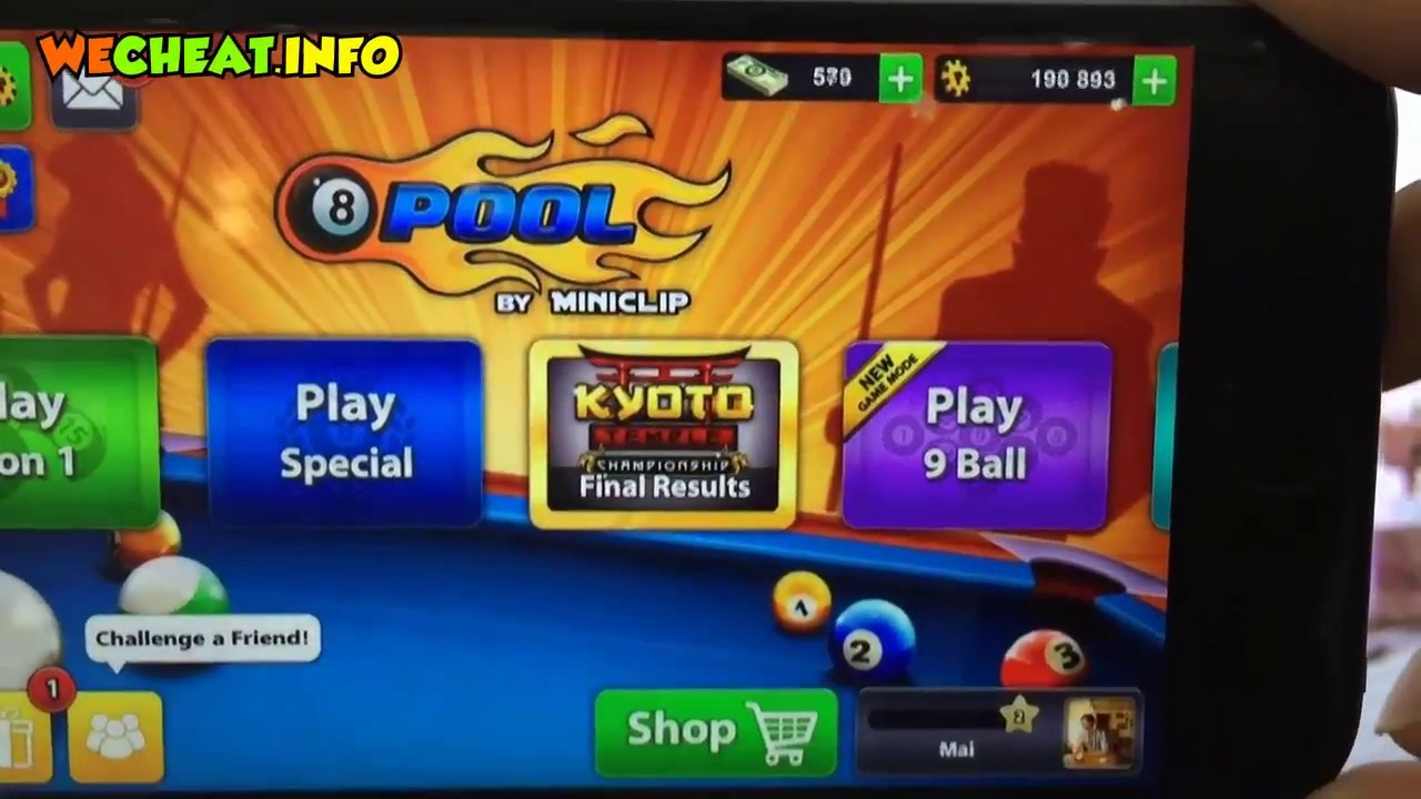 8 Ball Pool Hack - Unlimited Coins and Cash (iOS and ...