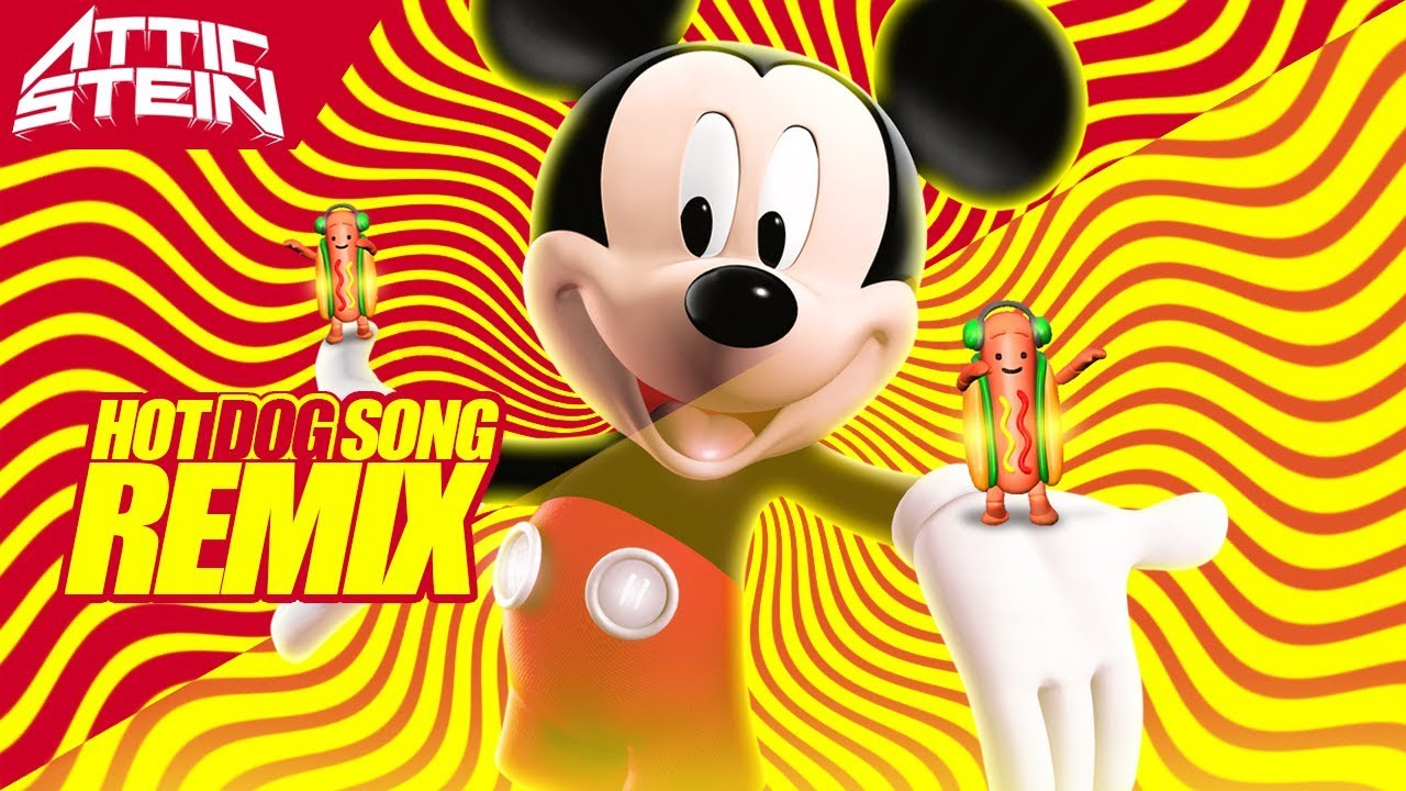 mickey mouse hot dog theme song