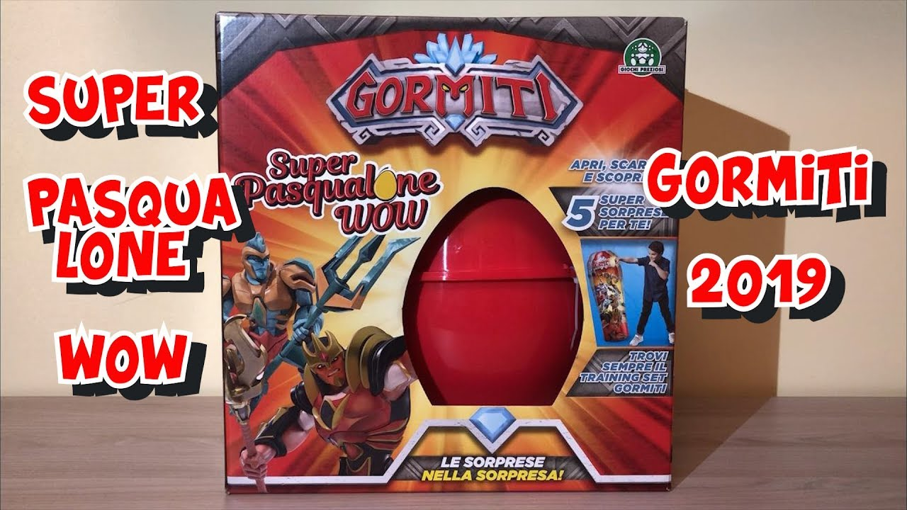 GORMITI 2019: SUPER PASQUALONE WOW!!! - YouTube