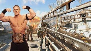 Fallout 4: John Cena Fatman Mod