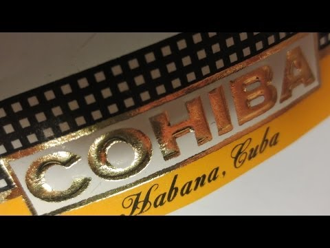 COHIBA Cigar Reviews Brand History Ep22 Pt1