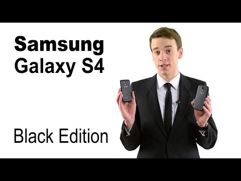 Мини-обзор Samsung Galaxy S4 Black Edition