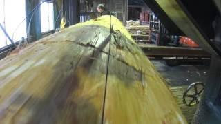 200年生吉野檜の製材②