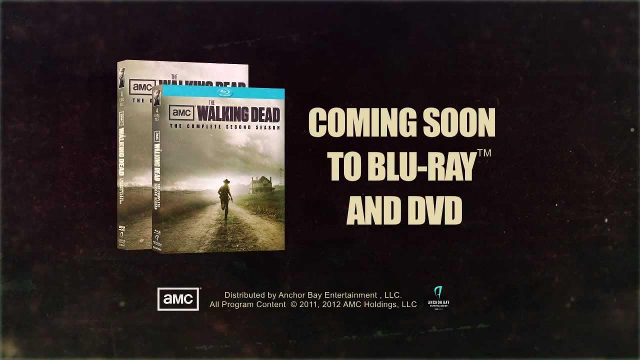 The Walking Dead Season 2 Coming Soon To Blu Ray Dvd