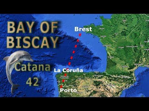Bay of Biscay with Catana 42 [Brest-Coruna-Porto]