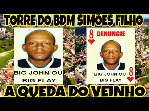 FIM DO VEINHO TORRE DO BDM EM SIMÕES FILHO