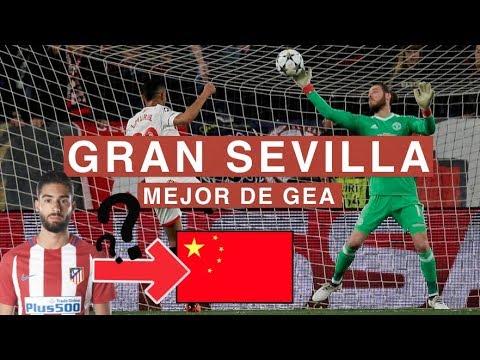ESPECTACULAR DE GEA VS SEVILLA | ¿CARRASCO A CHINA? | Charlas