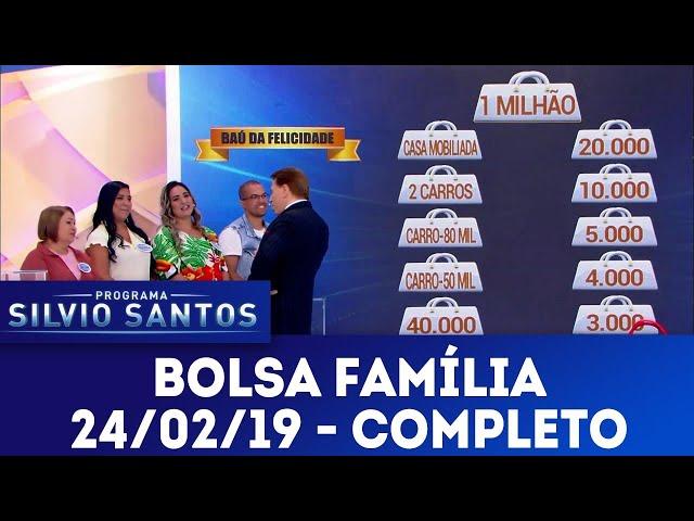 Bolsa Família - Completo | Programa Silvio Santos (24/02/19)