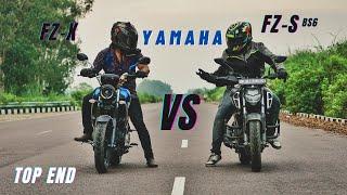 Yamaha Fz-X Vs Yamaha Fz-s Top End Race | क्या बात है मजा आ गया | Ksc Vlogs