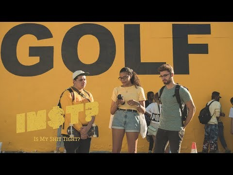 Kris Wu  Deserve feat Travis Scott: STREET REACTIONS at Tyler, The Creators GOLF store