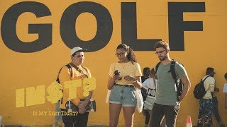 Kris Wu - Deserve feat. Travis Scott: STREET REACTIONS at Tyler, The Creator's GOLF store