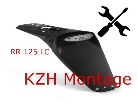 beta rr 125 lc acerbis kennzeichenhalter montage bike tips 1 youtube. Black Bedroom Furniture Sets. Home Design Ideas