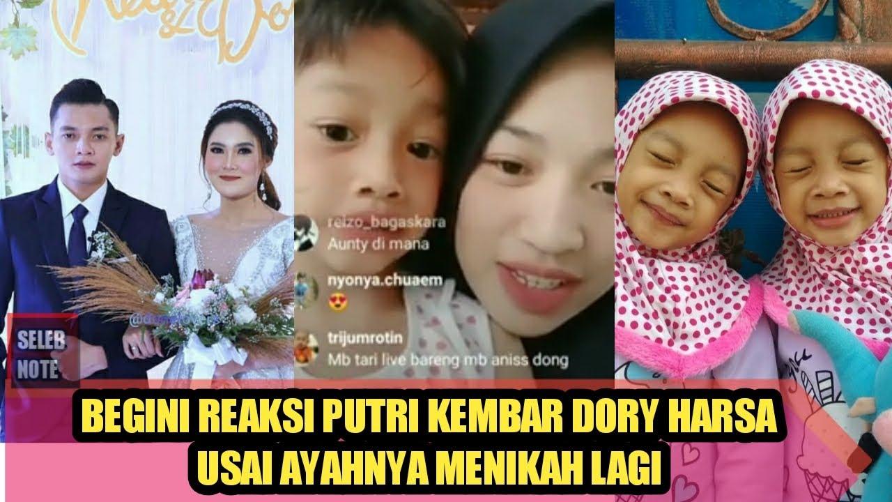 Melihat Ayahnya Menikah Lagi, Begini Reaksi Putri Kembar Dory Harsa