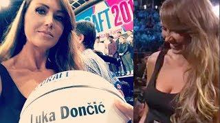 Luka Dončić's HOT Mom Was the STAR of The NBA Draft