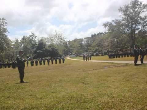 542nd NROTC Unit BISU-Calape Ceremonial Parade