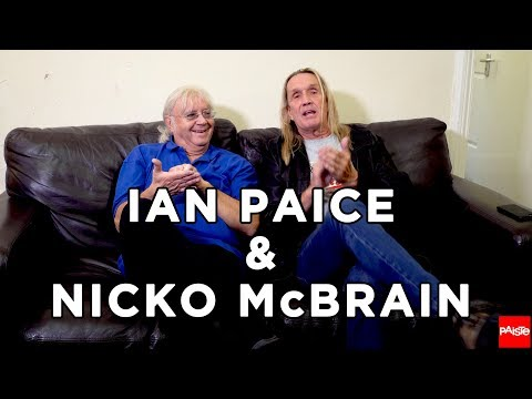 PAISTE CYMBALS - 2 Legends 1 Sofa - Nicko McBrain (Iron Maiden) & Ian Paice (Deep Purple) - (1/6)