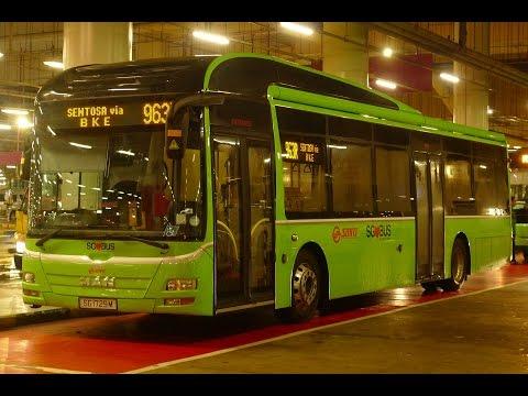 SMRT Express Bus Service 963R, SG1729M