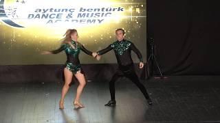 Aytunç Bentürk D.A yıl sonu gösterileri 2017 ABDA DANCERS Sebnem&Bülent Over 75