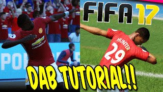 FIFA 17: DEMO DAB TUTORIAL!! - NEW POGBA JUBEL CELEBRATION! (PS4,XBOX ONE,PC) - GAMEPLAY (DEUTSCH)