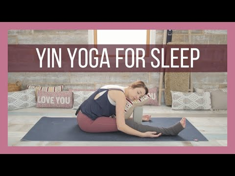 Yin Yoga for Sleep - Yin Yoga Bedtime & Stress Reduction Class {45 min}