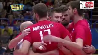 Russia - Netherlands - Second Round  World championship 2018 M - Full Match Highlights - HD