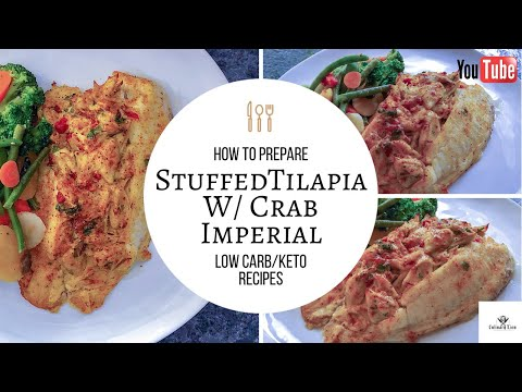 Stuffed Tilapia W/ Crab Imperial