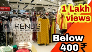 Flat 50% off Reliance Trends | Kurti collection | The Marina Mall | Shopping Vlog