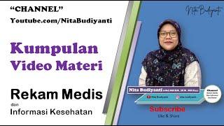 Kumpulan Materi Tentang Rekam Medis Dan Informasi Kesehatan